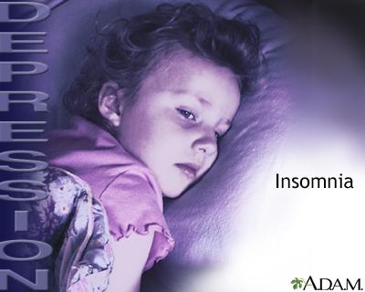 Depression and insomnia