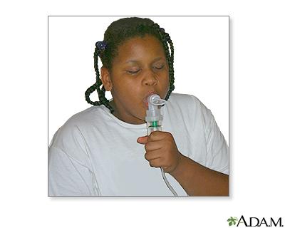 Nebulizer use - part five