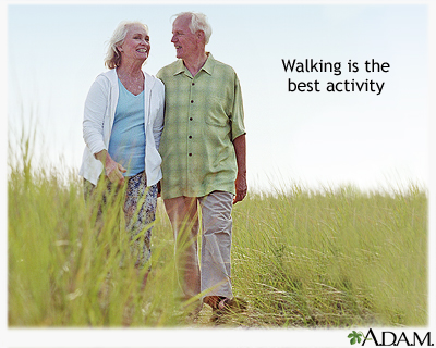 Being active after a heart attack