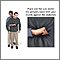 Heimlich maneuver on adult